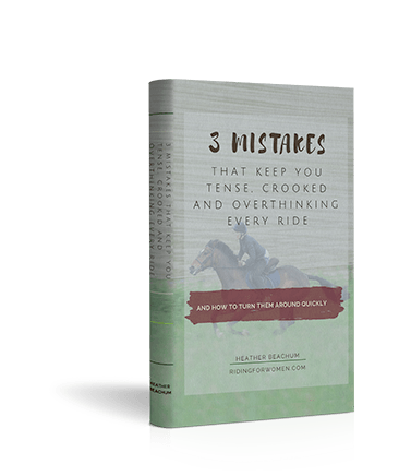Ebook 3 Mistakes That Keep You Tense, Crooked and Overthinking Every Ride